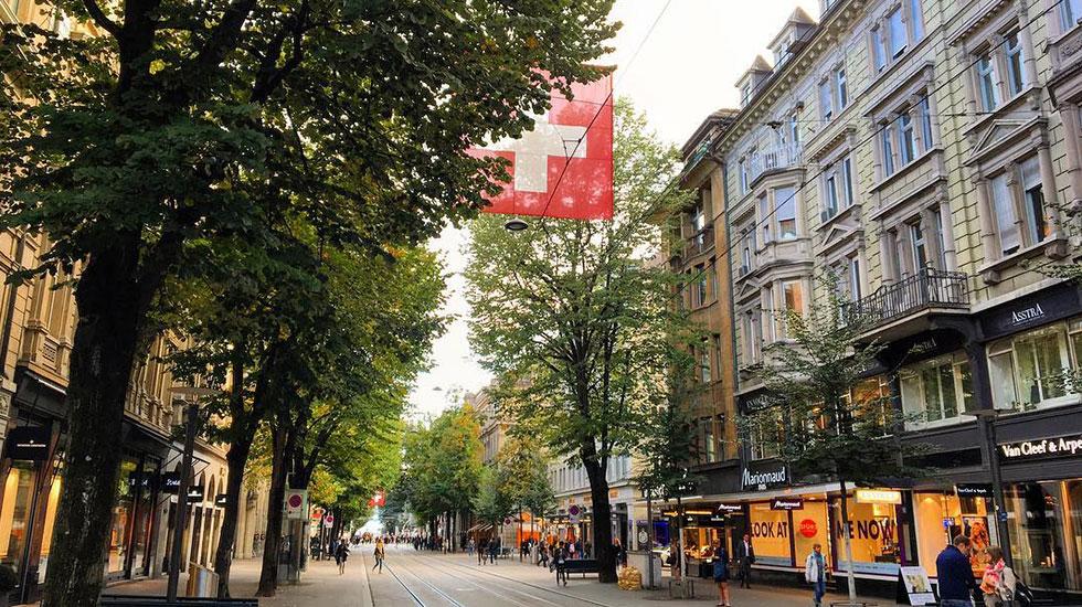 bahnhofstrasse-street