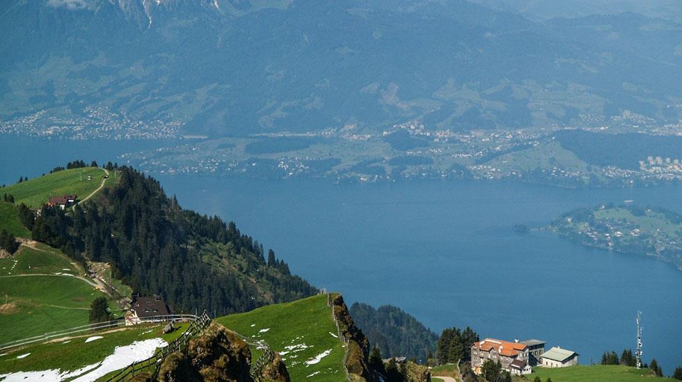 cảnh đẹp Lucerne từ đỉnh Rigi - Tour Thụy Sĩ giá rẻ