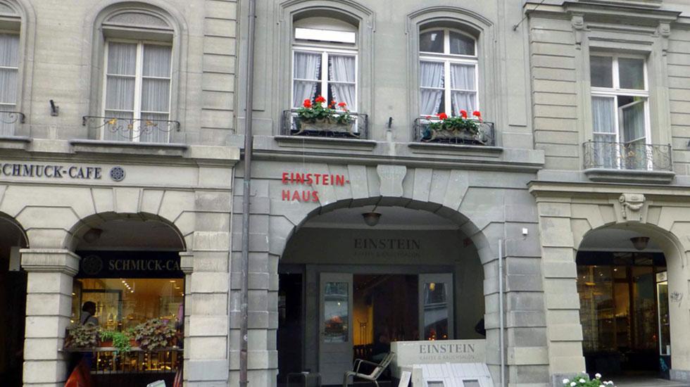 Căn hộ nhà khoa học Einstien - Du lịch Thụy Sĩ