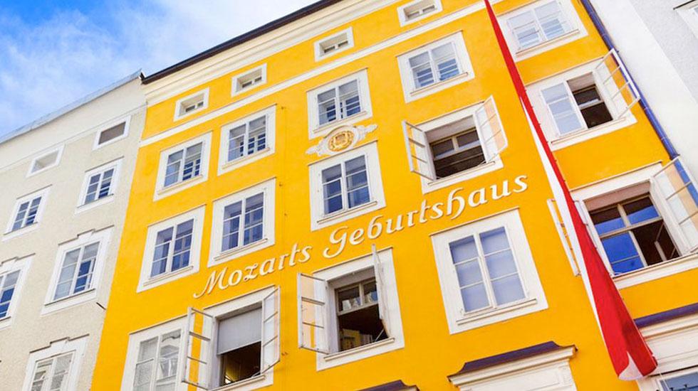 Căn hộ nhạc sĩ Mozart-Du lịch Áo