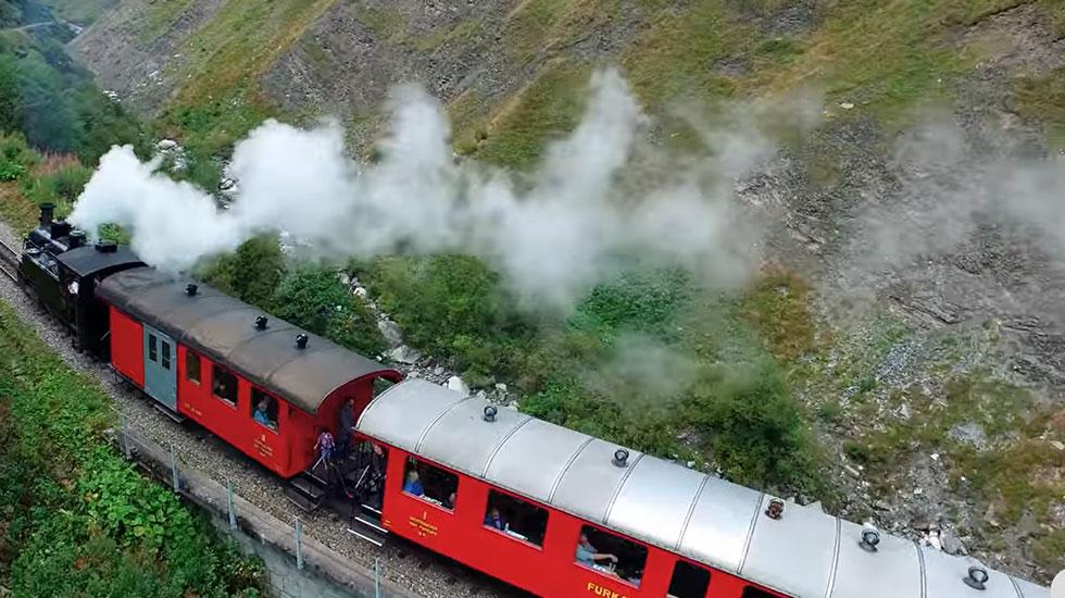 Con tàu Đà Lạt - Du lịch Thụy Sĩ (1)