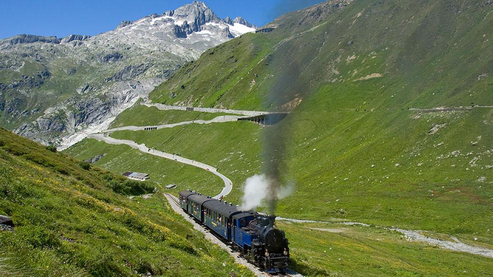 Con tàu Đà Lạt - Du lịch Thụy Sĩ (2)