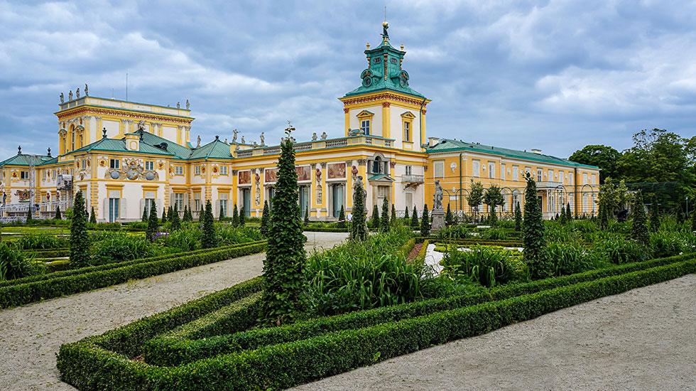 Cung điện Wilanow - Tour Du Lịch Ba Lan