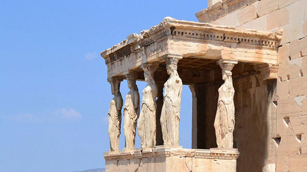 Đền thờ Athena - Du lịch Hy Lạp
