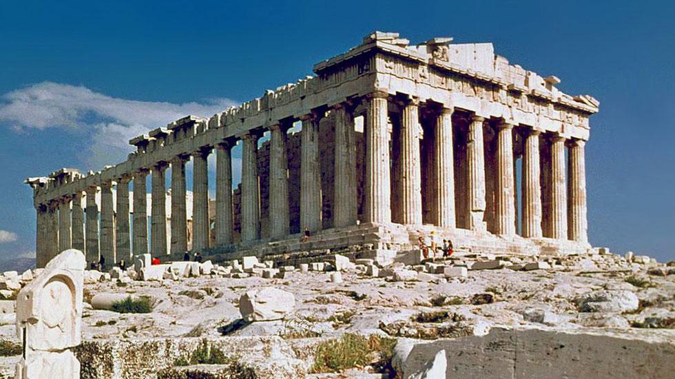 Đền thờ pathenon - Du lịch Hy Lạp