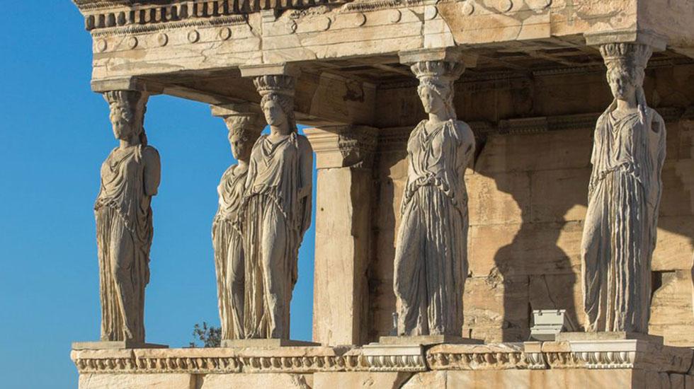 Đền thờ thần Athena - Du lịch Hy Lạp