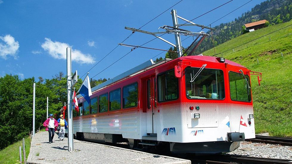 Đỉnh núi Rigi - Du lịch Thụy Sĩ (1)