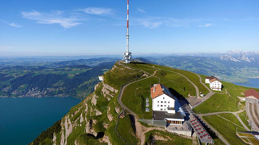 Đỉnh núi Rigi - Du lịch Thụy Sĩ (2)