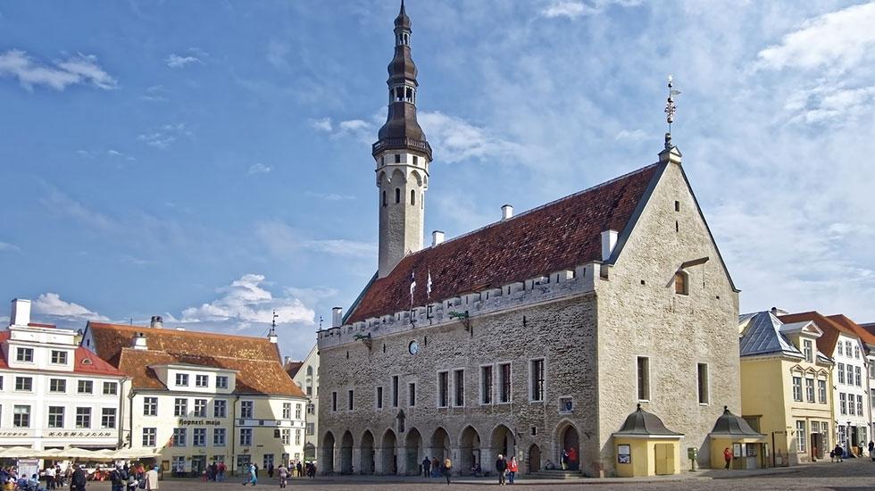 Góc phố cổ Tallin - Tour Du Lịch Estonia