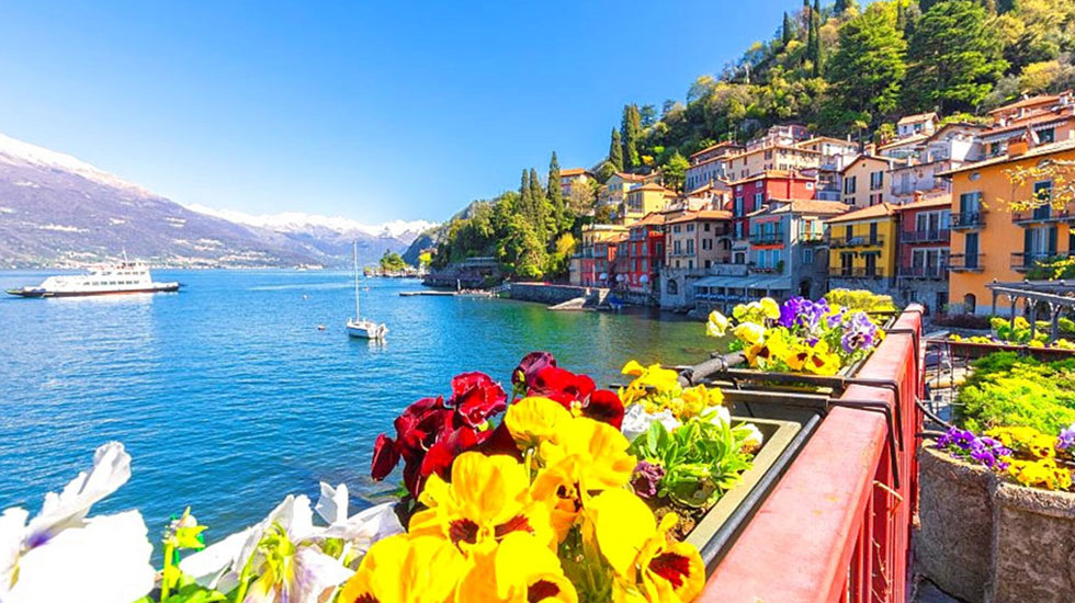 Hồ Como - Du lịch Ý - Thụy Sĩ (2)