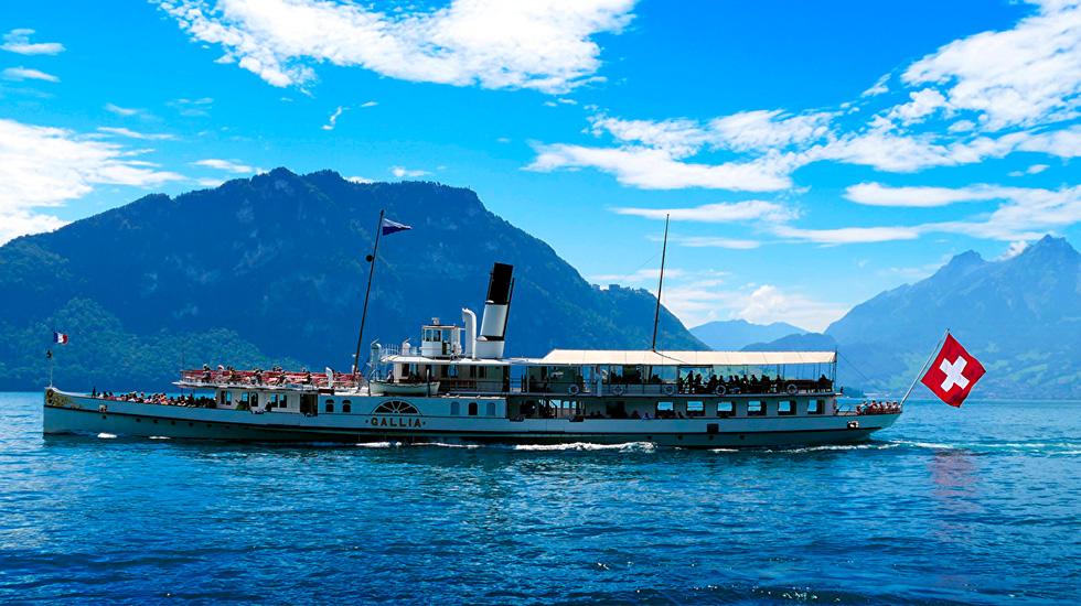 Hồ Lucerne - Du lịch Thụy Sĩ