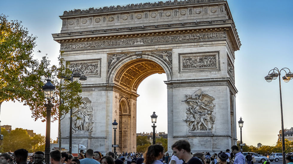 Khải Hoàn Môn - Tour Du Lịch Pháp