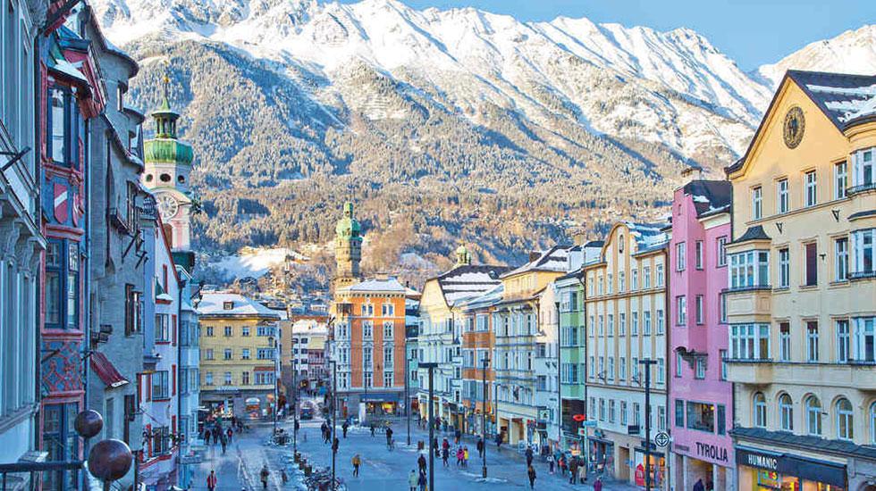 Khu phố cổ Aldstadt - Du lịch Áo