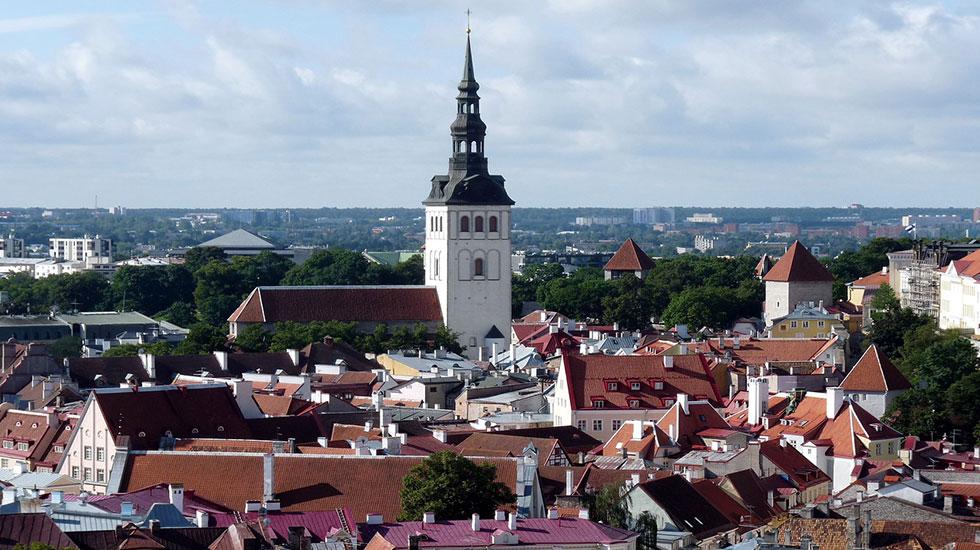Khu - phố - cổ -Tallin - Tour Du Lịch Estonia