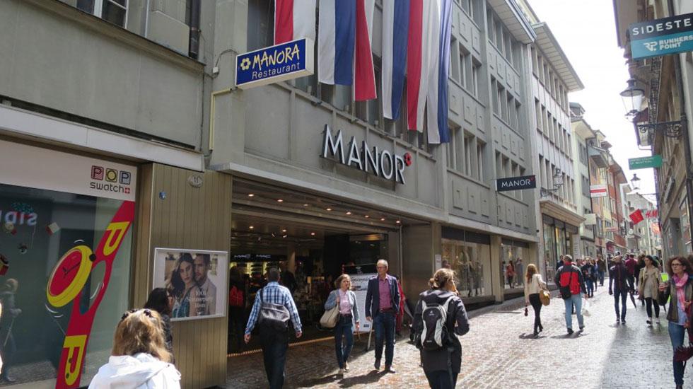 Khu phố mua sắm Lucerne - Du lịch thụy Sĩ