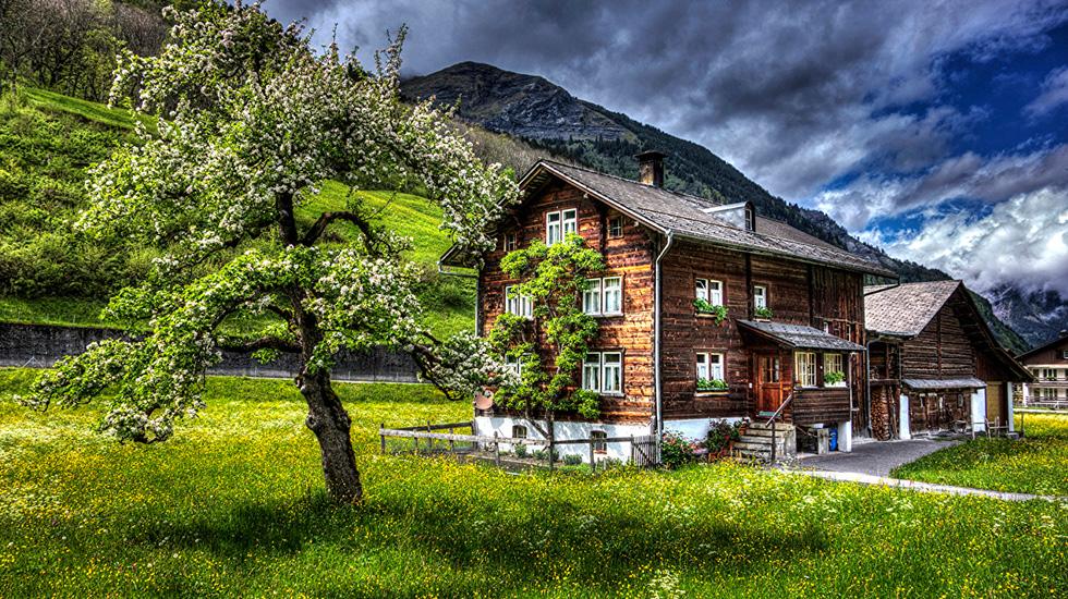 Khung cảnh Thụy Sĩ - Du lịch Thụy Sĩ (2)