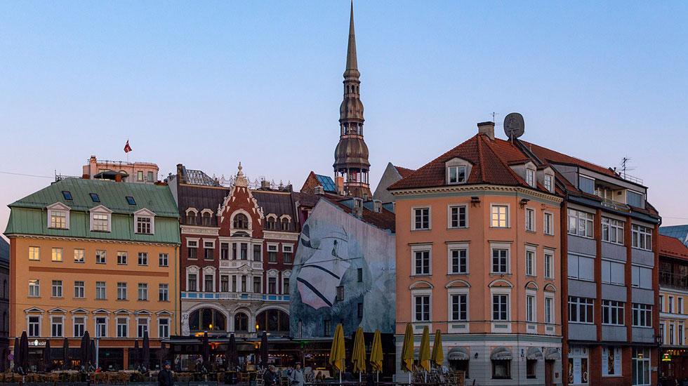 Kuppel quảng trường, Riga - Du lịch Latvia