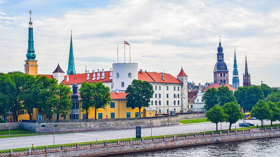 Lâu đài Riga - Du lịch Latvvia