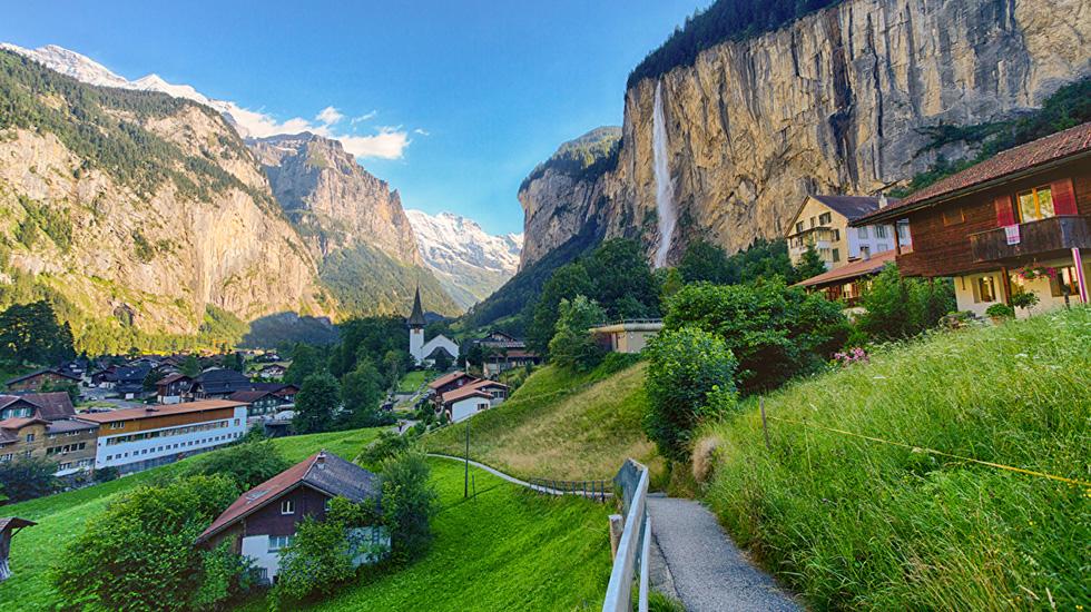 Lauterbrunnen - Wengen - Du lịch Thụy Sĩ (1)
