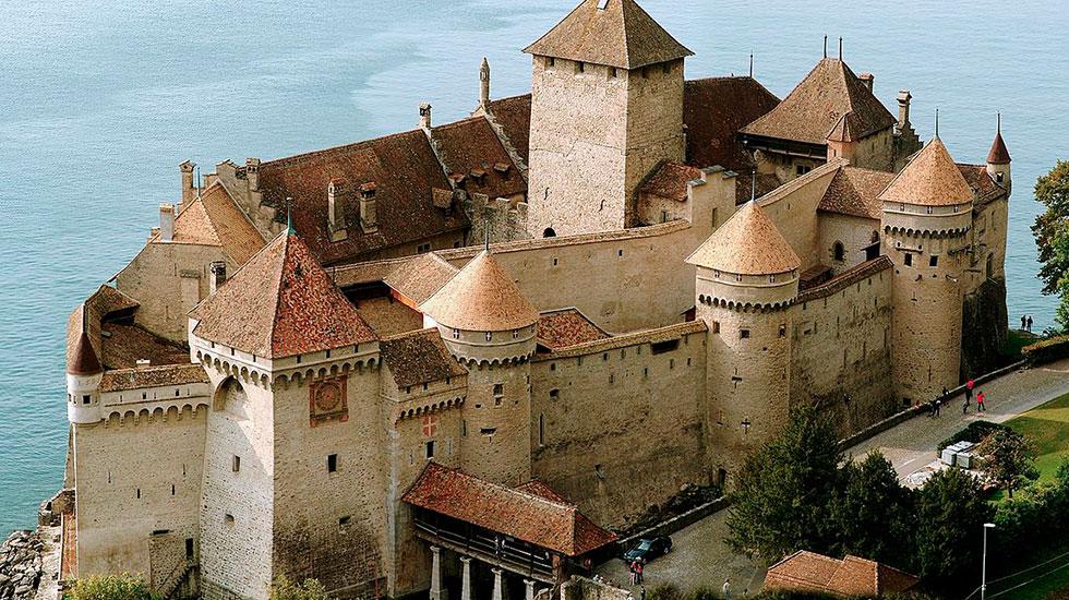 Lua đài Chillon - Du lịch Thụy Sĩ