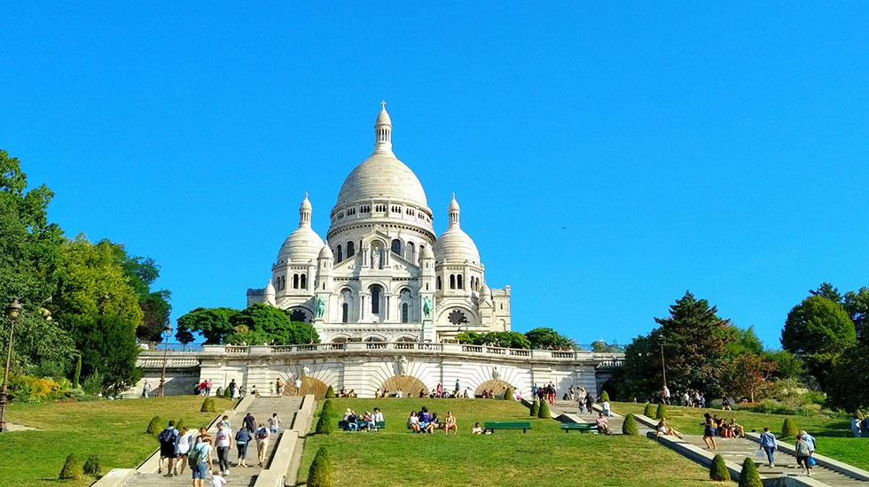 Nhà-thờ-Thánh-Tâm sac sa couer- Tour Du Lịch Pháp
