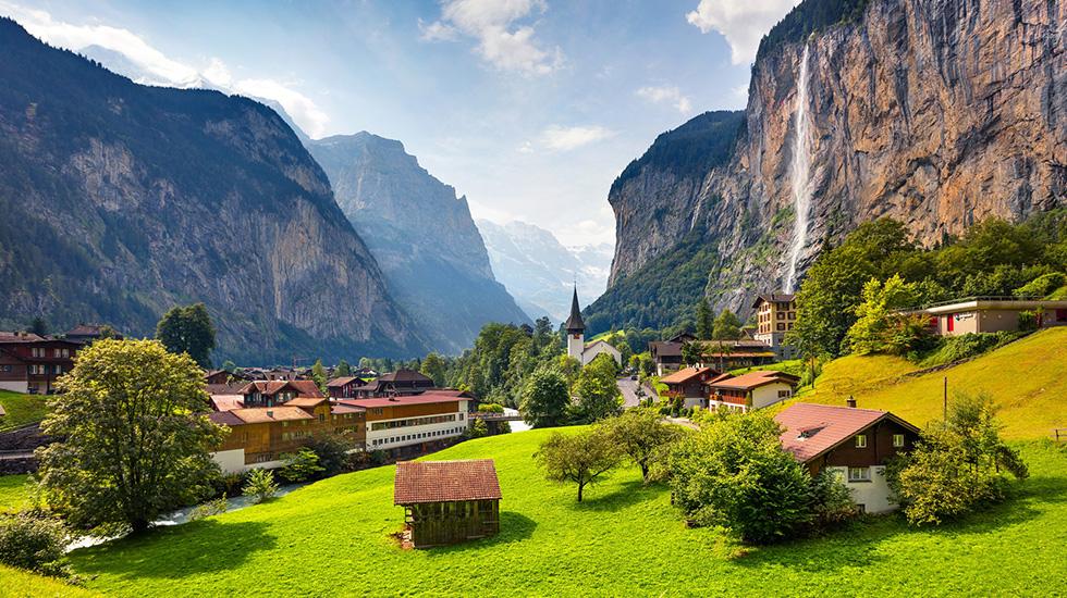Núi non Thụy Sĩ - Du lịch Thụy Sĩ (1)