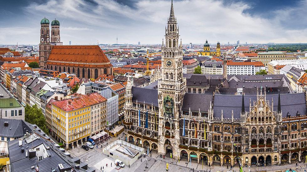 Phố cổ Munich - Du lịch Đức