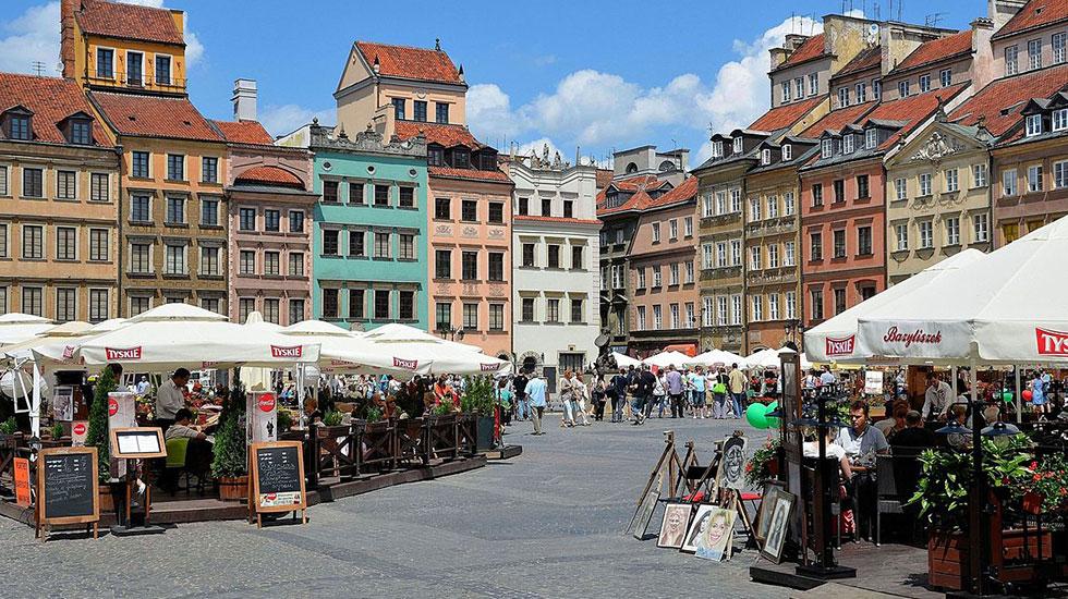 Phố-cổ-Warsaw - Tour-Du-Lịch-Ba-Lan