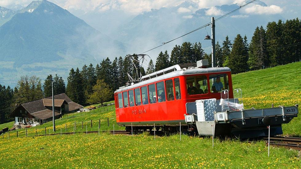 Rigi Staffel Train-Du lịch Thụy Sĩ