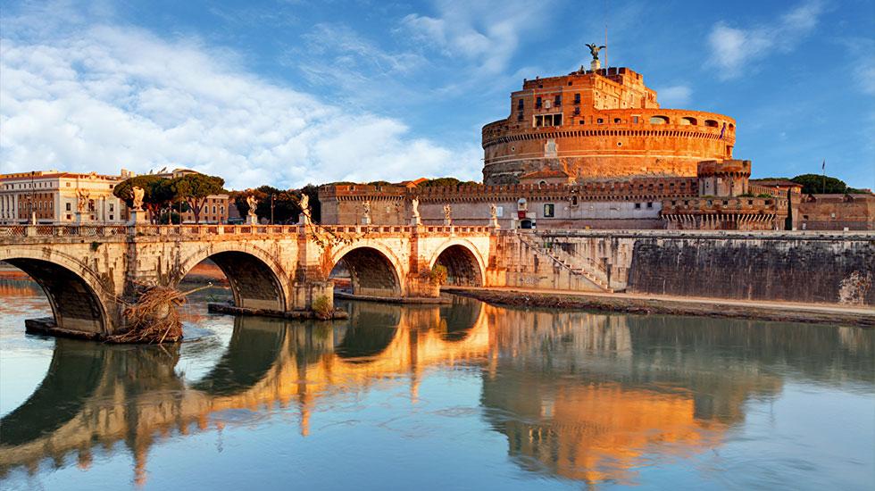 Rome_Italy_Rivers_Bridges_Sculptures_Castles - Tour Du Lịch Ý