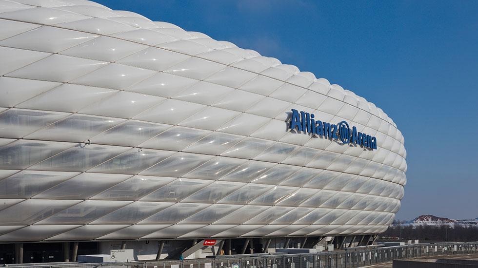 Sân vận động Allianz Arena Munich - Du lịch Đức