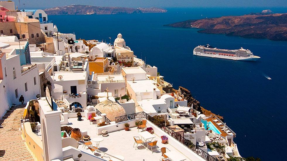 Santorini-Du lịch Hy Lạp