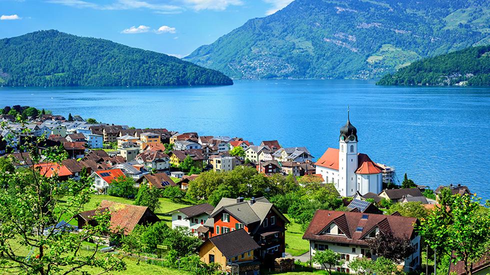 Switzerland_Lake_Mountains - Du lịch Thụy Sĩ