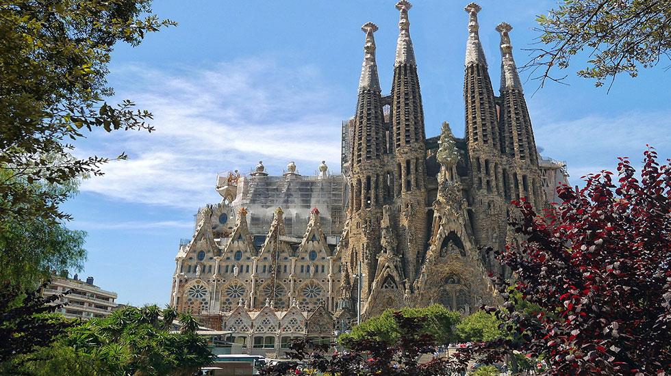 Thành-đường-Sagrada-Familia - Tour Du Lịch Tây Ban Nha