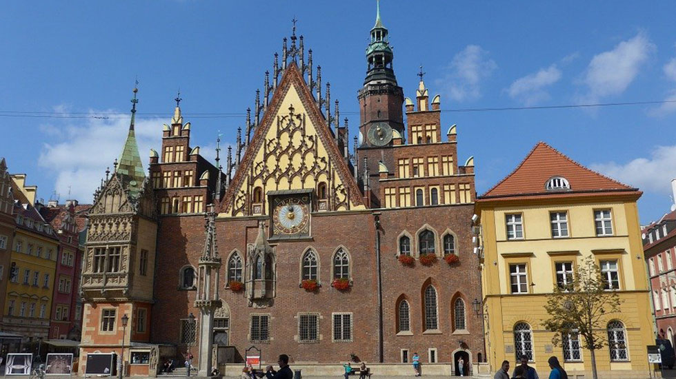 Tòa-Thị-chính-Wroclaw-Ba-Lan - Tour Du lịch Ba Lan