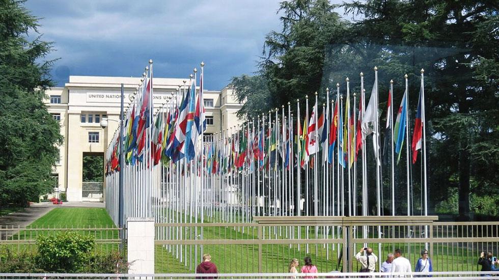 Trụ sở liên hiệp quốc - Du lịch Thụy Sĩ