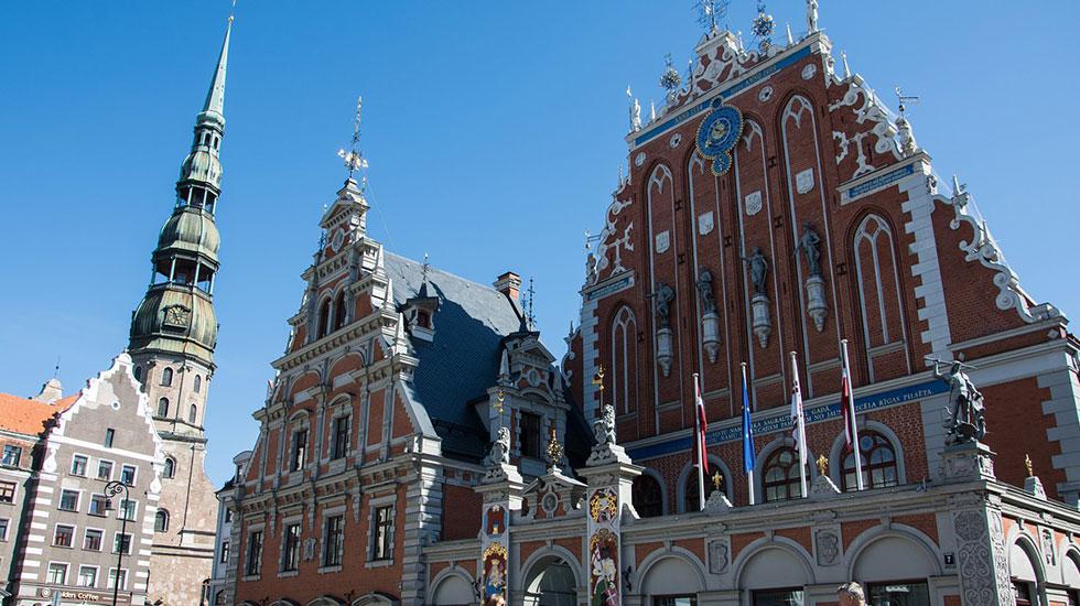 Trung tâm phố cổ lịch sử Riga - Du lịch Latvia