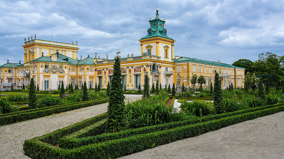 Wilanow cung điện - Tour Du Lịch Ba Lan