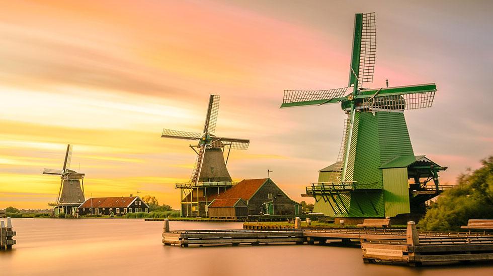 Cối xay gió - Du lịch Hà Lan
