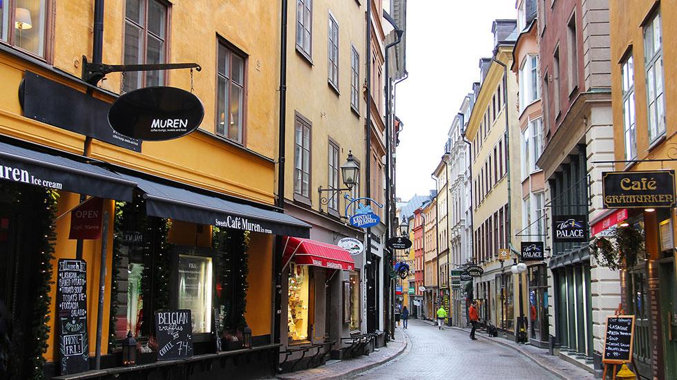 Gamla-stan-phố-cổ - Tour Du Lịch Thụy Điển