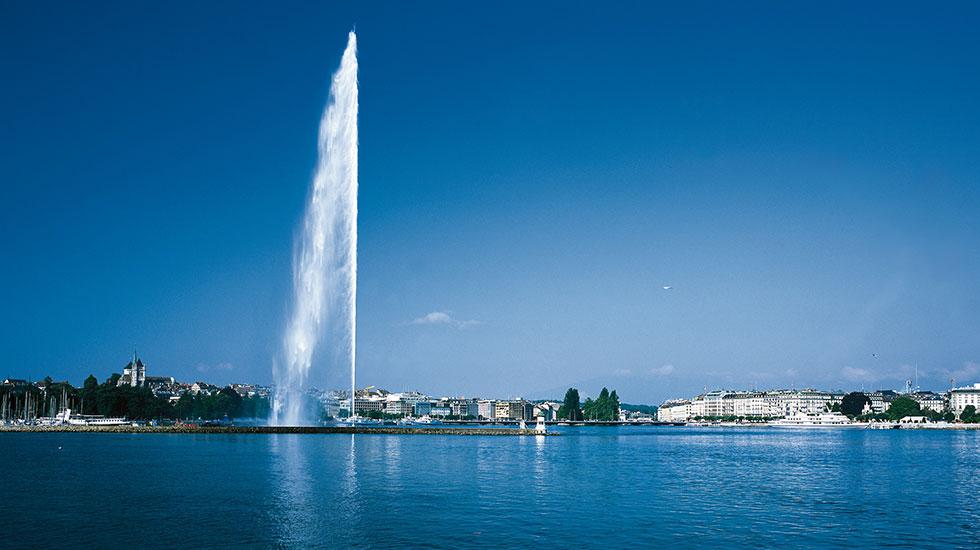 Vòi phun nước cao nhất thế giới - Du lịch Thụy Sĩ