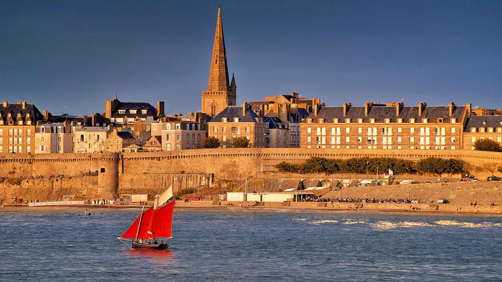 landscape Saint Malo - Tour Du Lịch Pháp