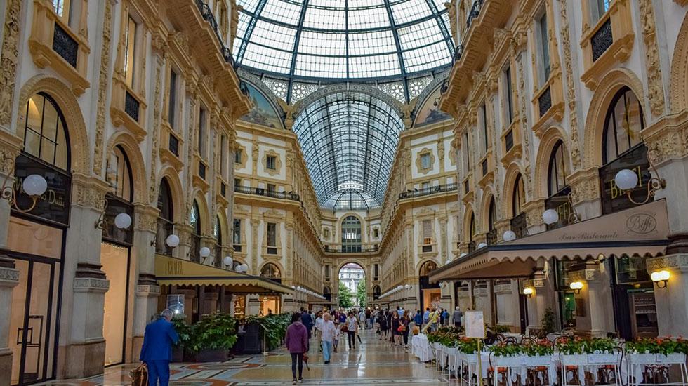 Galleria Vittorio Emanuele - Tour Du Lịch Ý