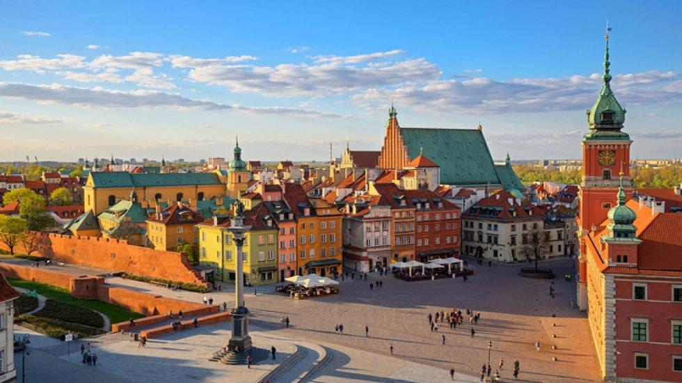 Phố-cổ-Warsaw - Tour Du Lịch Ba Lan