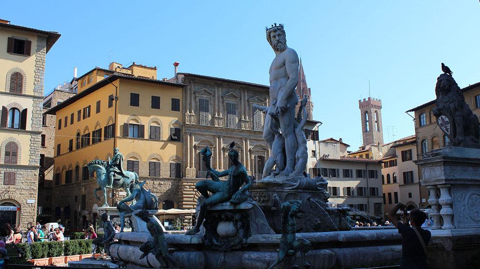 Piazza-della-signoria - Tour Du Lịch Ý