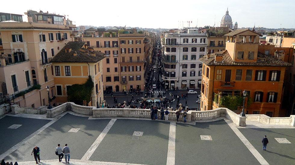 Quảng trường Piazza Di Spagna - Tour Du Lịch Ý